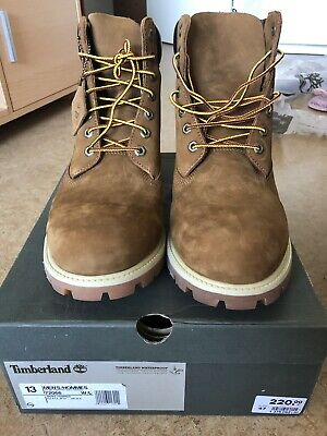 NEU! TIMBERLAND 6 INCH CLASSIC BOOT MEN HERREN STIEFEL ORANGE 72066 GR. 47,5 /13