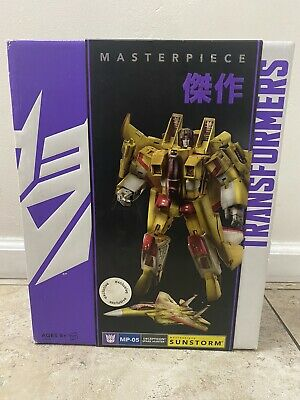 Transformers Masterpiece SUNSTORM Figure MP-05 2014 Toys R Us Exclusive