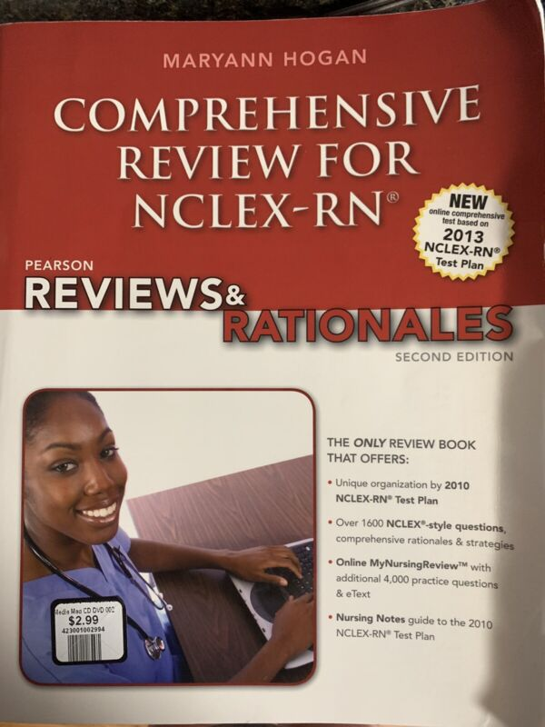 Comprehensive Review for NCLEX RN Pearson Second Edition USED