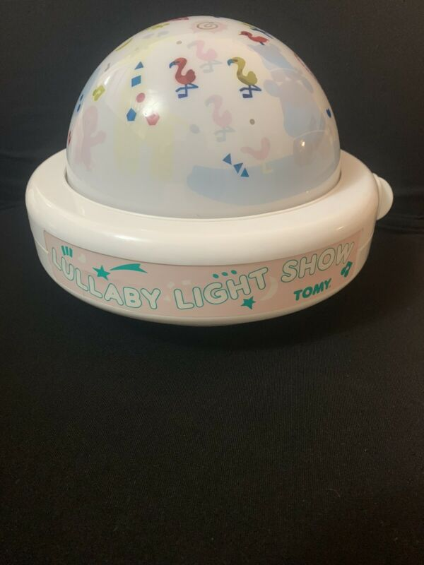 Vintage 1987 Lullaby Light Show By Tomy