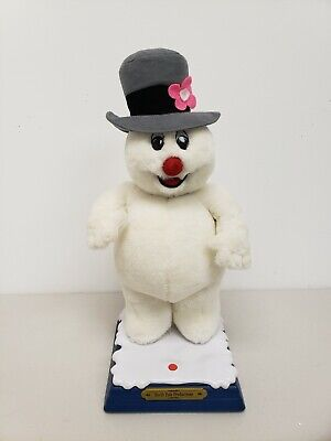 """Gemmy North Pole Productions Frosty The Snowman Animated Singing 19"""" Christmas"""