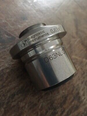 Diagnostic Instruments 0.63x C-mount Microscope Camera Adapter - D63nlc -