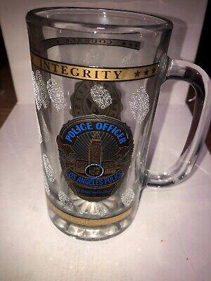 16 Oz Beer Mugs (LAPD Logo Beer Mug Glass 16 Oz)