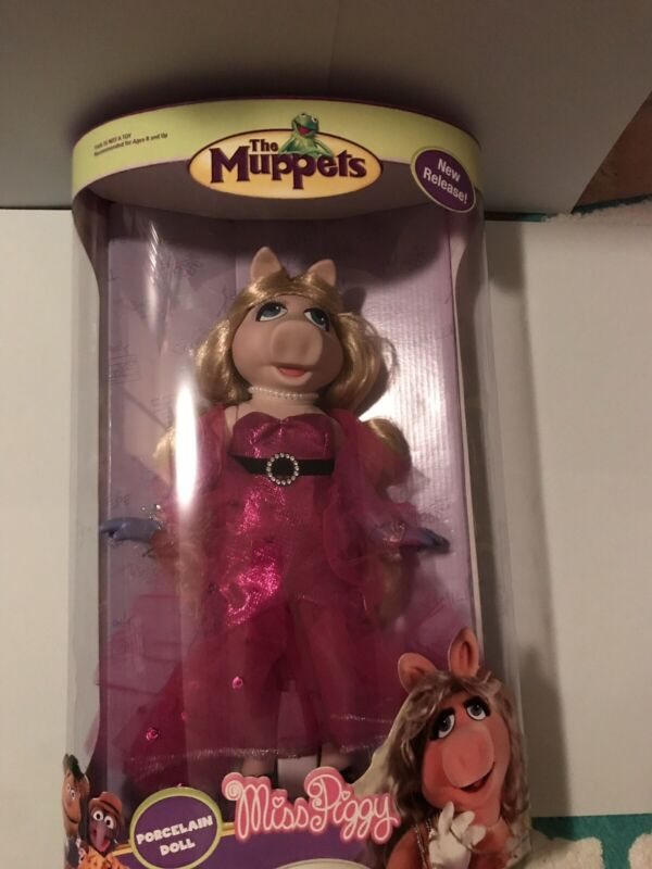 Brass Key Collectibles Muppets Miss Piggy New In Box