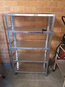 Garage shelving and plastic draws Maryland Newcastle Area Preview