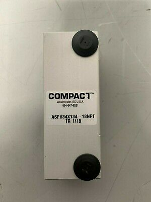 Compact Asfh34x134-18npt Tr 115 Pneumatic Square Body Cylinder