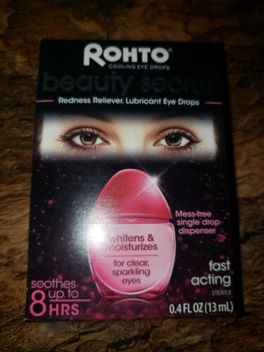 Rohto Beauty Secret Redness Reliever Lubricant Cooling Eye D