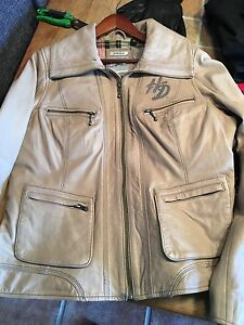 Ladies Harley Davidson leather jacket - Size XL