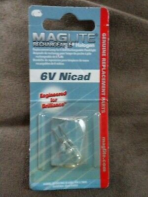 - MAGLite Rechargeable Halogen Lamp 6V Nicad