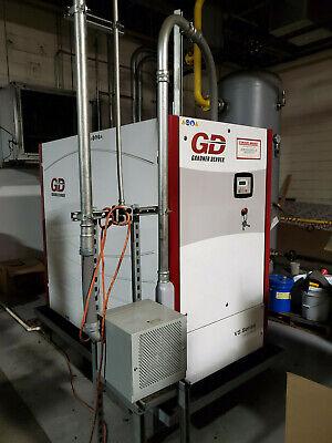 Gardner Denver 94 Hp Vs Series Model Vs70a Rotary Screw Air Compressor Package