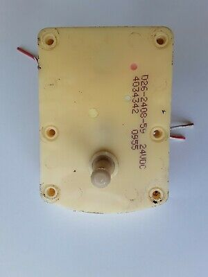 Small Dc Electric Gear Motor 12-24 Vdc 30rpm Ccw 24vdc
