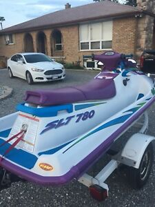 1997 Polaris Seadoo 780 SLT with trailor