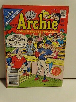 "Vintage 1989 Archie comics digest book no.96 ""Car Trouble"" Baseball cover"