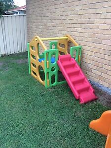 Kids Outdoor Climbing Frame Gym and Slide Raymond Terrace Port Stephens Area Preview