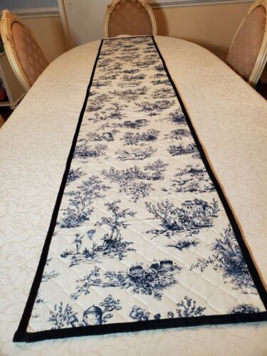 "Vintage Table Runner Williams Sonoma.Made In USA. 89""×16"""