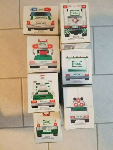 Hess Toy Truck Collection 1993 - 2009, 2011, 2012