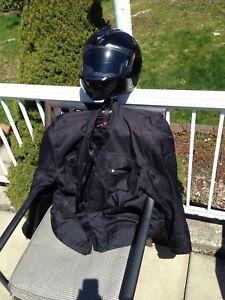Motor Cycle Helmet & Jacket