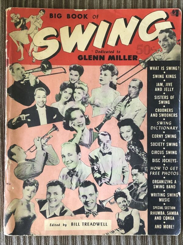VINTAGE Big Book of Swing Dedicated to Glenn Miller Edited By Bill Treadwell