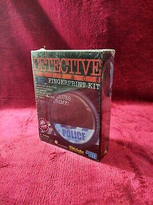 4M Kids Science Kit Crime Scene Detective Fingerprint Kidz Labs