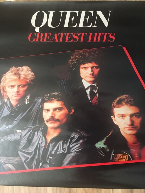 Queen Greatest Hits Authentic Promo Poster 1981