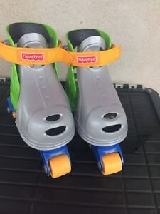 Fisher Price Grow-With-Me 1,2,3 Inline Skates