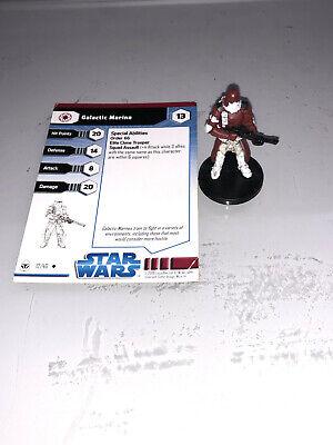 Star Wars Miniatures Clone Wars Galactic Marine #12