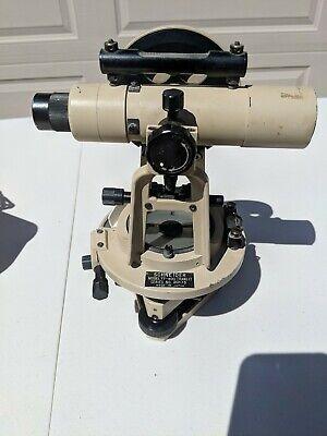 Schneider Tt-400 Serial Number 20173 Survey Transit Level - With Compass