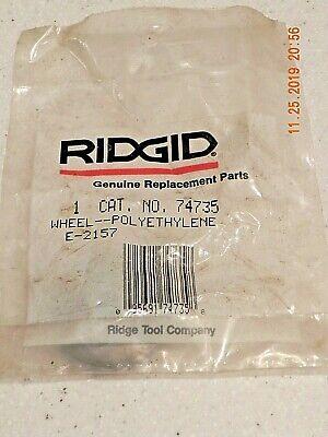 Ridgid 74735 E-2157 Replacement Pipe Tube Polyethylene Cutter Wheel