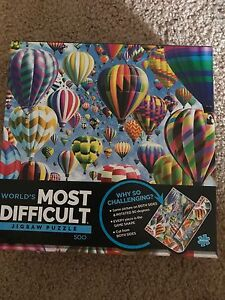 500 piece double sided puzzle