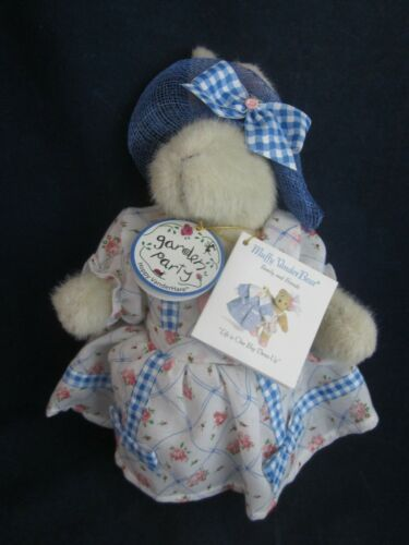 MUFFY VANDERBEAR Garden Party 1998 Hoppy Dressed in Outfit VINTAGE NEW TAG