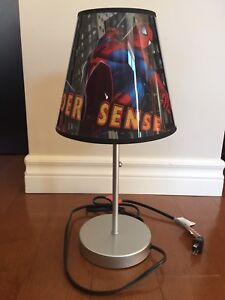 Lampe de chevet de Spiderman, hauteur de 16 pouces