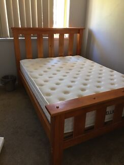 Double Size Bed and Mattress Delivered