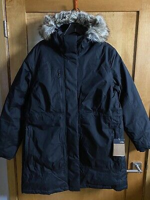 The North Face Downtown Parka TNF Black Women's XXL New With Tags 2XL
