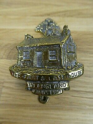Vintage Brass Lands End Door Knocker - The first and last house in England