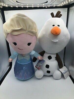 Large Frozen 2 Elsa Olaf Snowman Princess Disney Pixar Plush Kids Stuffed Toy