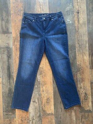 Women's Gloria Vanderbilt Rail Straight Jeans, Medium Blue, 6