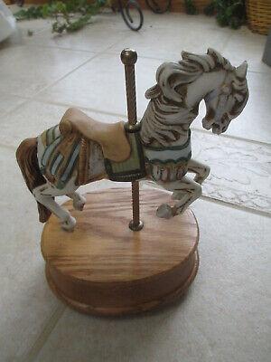 Westland Carousel Horse Music Box, Carousel Waltz.