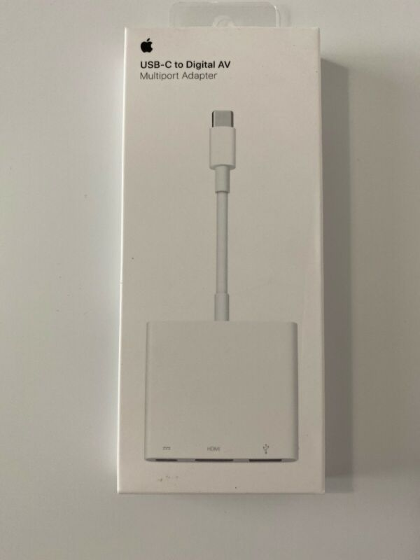 NEW VERSION Apple USB-C Digital AV Multiport Adapter MUF82AM/A - NEW 4K VERSION!