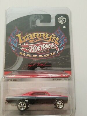 2009 HOT WHEELS LARRY'S GARAGE '67 PONTIAC GTO MINT IN PROTECTO PAK