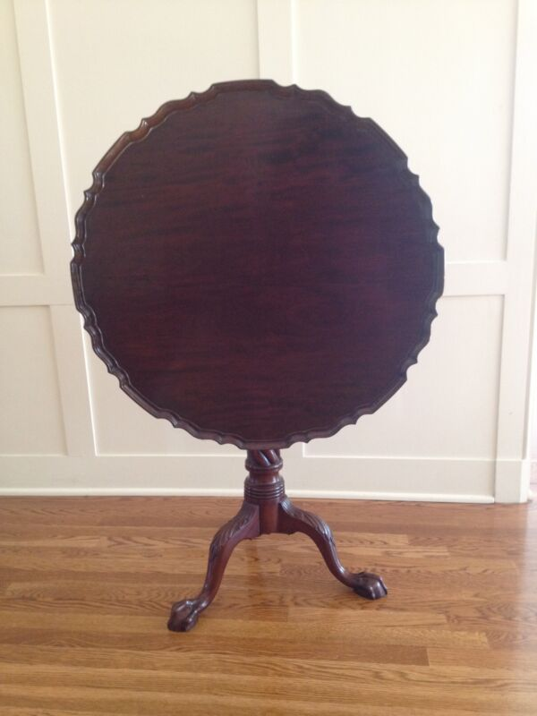 ANTIQUE IRISH TILT TOP TABLE...***PRICE REDUCED***