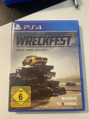 Wreckfest (Sony PlayStation 4, 2018)