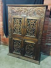 Stunning hand carved timber cabinet can deliver Penrith Penrith Area Preview