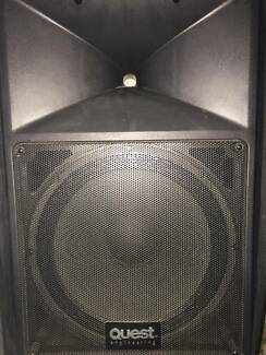 Quest QSA400 Active Speaker PAIR Concord West Canada Bay Area Preview