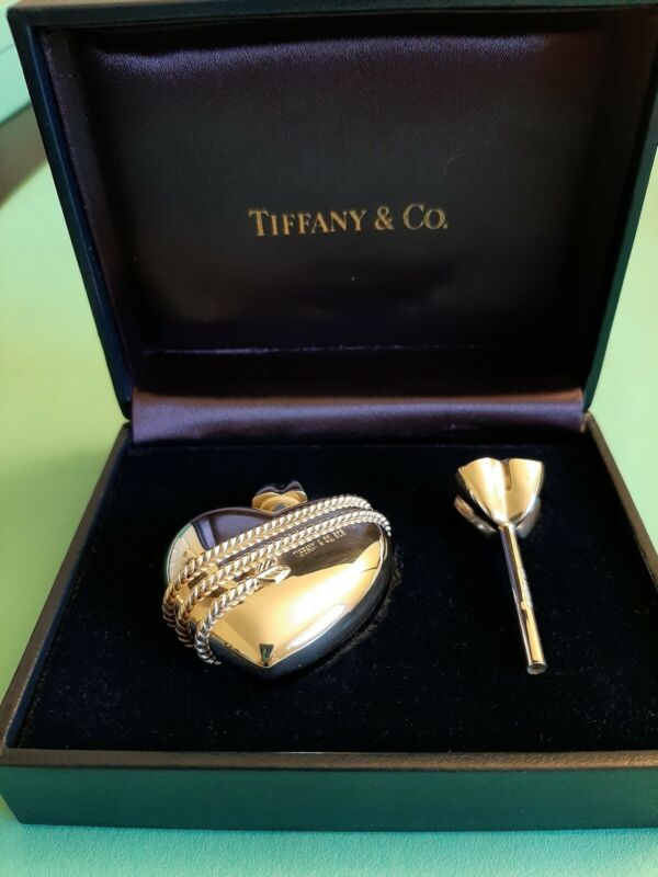 Tiffany & Co. Perfume Bottle, Excellent Condition, RARE, Box Included, Funnel