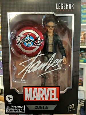 Marvel Legends Series Stan Lee 6-Inch Action Figure 80th Anniversary in Stock