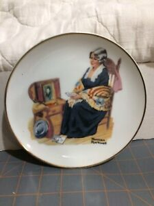 Norman Rockwell and Bradford Exchange Collector Plates