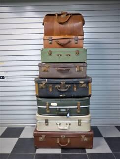 vintage suitcase in Sydney Region, NSW | Antiques, Art ...