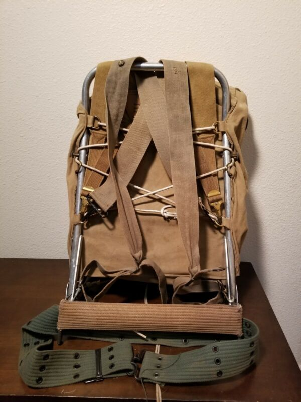 574 Yucca Pack With Frame Vintage Boy Scouts  Hiking Camping Backpack