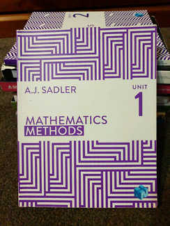 For Sale - Yr 11 Maths Methods units 1 and 2