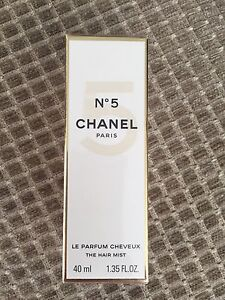 CHANEL NO 5 LE PARFUM CHEVEUX The Hair Mist 40ml NEW in sealed box Inglewood Stirling Area Preview